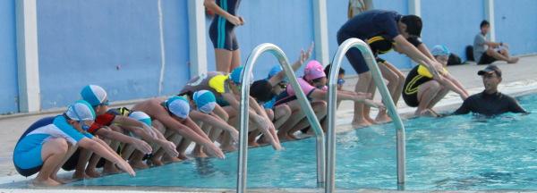 plunge swimming
