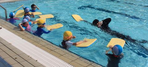 swimming demo